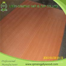 Exportando profissionalmente a madeira compensada extravagante misturada da categoria 1.8-3.6mm Sapele de Linyi