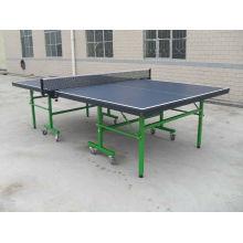 Сложенный настольный теннисный стол (TE-201)