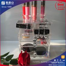 China Großhandel Acryl Rotating Lipstick Tower