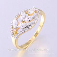 2018 joyería 3A CZ circón cúbico plata esterlina 925 anillos de dedo femeninos de la boda con chapado doble joyería chapada en rodio es su buena elección