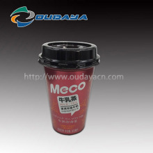 300ml IML milk tea cup frozen beverage plastic