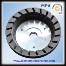 Roda de moedura do diamante do CNC para o carboneto