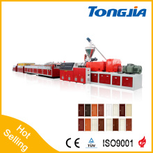 PVC and Wood Composite Damp Proof Environmental Door Panel Extruder