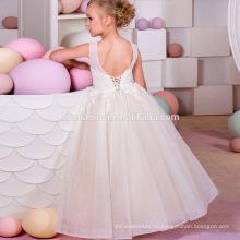 Маленькая девочка партия носить западные партии принцессы платье без рукавов дети девочка день рождения платье для девочки 7 лет