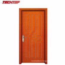 Tpw-131 Made in China Simple Teak Wood Door Designs