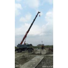 Grue élévatrice à flèche télescopique pour bâtiment de construction