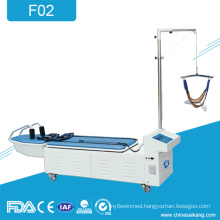 F02 Physical Therapy Cervical And Lumbar Traction Bed