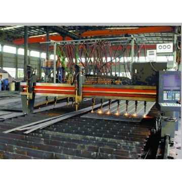 CNC / Multi-Head Flame Cutting Machine (Double Drive)