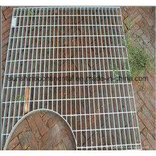 Feuerverzinkte Laufsteg-Plattform-Stahlgitter-Abflussabdeckung