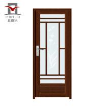 2018 высокое качество алюминия ванной дверь створки стеклянные двери