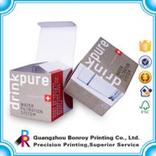 Caja blanca barata de la E-flauta de la caja de papel acanalada conveniente para empaquetar