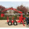 atv log trailer with crane sale for Canada and USA
