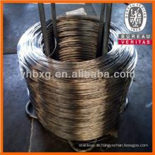 Draht aus nichtrostendem Stahl verzinkt Preis von Stahl pro kg