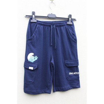 Boy's Knitting Short Pant with Pocket