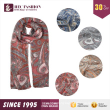 HEC 2016 Fancy Trend Spring Autumn Season Weared Brand Name Knitted Scarf