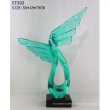 Fashionable Custom Interior Colorful Resin Crafts Souvenir Sculpture