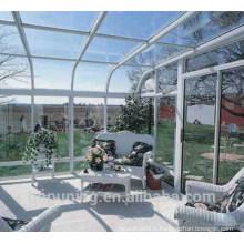Matériaux de toiture en serre en polycarbonate solide au meilleur prix du polycarbonate