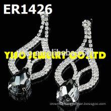 charm jewelry rhinestone earrings