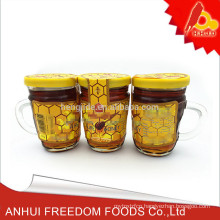 chinese mature pure raw black dark forest honey for sale