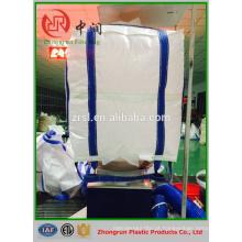Sacos de plástico pesados de 2 toneladas saco grande do recipiente do saco do volume do u-painel