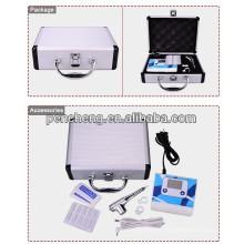 Professional LCD digital permanent makeup taooo lip tattoo machine set