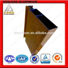 Perfil de aluminio de alta calidad de China para el muro de cortina