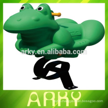 High Quality Kid's Outdoor frog Spring Rider