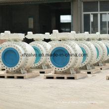 Válvulas de esfera de flange de uso industrial de grande tamanho
