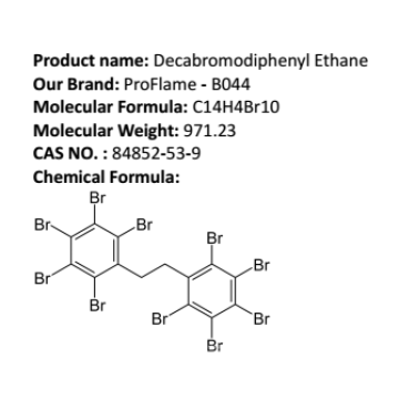 Decabromodiphenyl Ethane-Fire MSDS