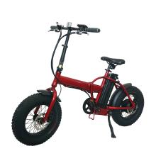 2021 changzhou High Power Folding Fat Tire Bicycle Electric Mountain Bike 20Inch
