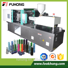 Ningbo fuhong full automatic 180ton pet preform plástico injeção máquina preço com bomba fixa