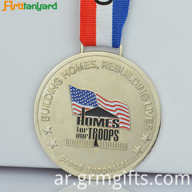 Custom Medal With Soft Enamel