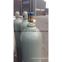 99,999% gás de hélio preenchido em 40L cilindro, pressão de enchimento: 150bar
