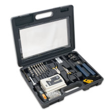 Computer Network Installation Tool Kit with Multi-Module Cable Tester