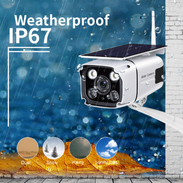 Kit de cámara solar 1080P 4G IP CCTV Camera