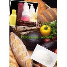 Conservateur CAS: 24634-61-5 Potassium Sorbate