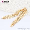 40879 Xuping plaqué or chaîne bijoux, mode hommes collier pour hommes