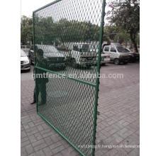 Clôture de chien bon marché / Clôture de maille à grande échelle / clôture composite à bas prix