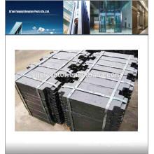 Elevator Cast Iron counterweight Block