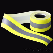 fita reflexiva retardadora de alta luz fita reflexiva amarela de RF