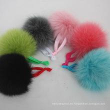 Venda al por mayor las vendas elásticos lindas del pelo de la piel de Fox