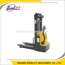 1500kg 1.5 ton 1.6m 2.5m 3 m electric pallet stacker with Curtis Controller