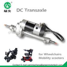 electric wheelchair DC bursh motor axle