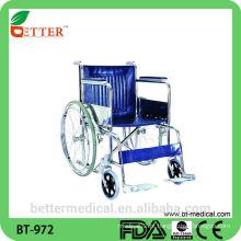Cadeira de rodas em aço idoso