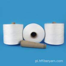 Raw White Paper Cone Virgin Quality 100 Spun Benang Polyster 40
