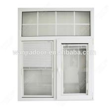 fenêtre à battant ronde / fenêtre en arc de pvc / marque foshan wanjia