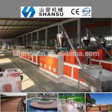 2014 CHINE FABRICANT PP / PE / PVC BOIS PLASTIQUE PROFIL COMPOSITE Machine Ligne / bois machine à composites en plastique