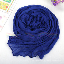 Soft Polyester Viscose Hijab Scarf Based on 80s*80s Voile