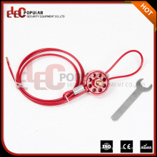 Tipo de rueda Bloqueos de cable para asegurar las válvulas