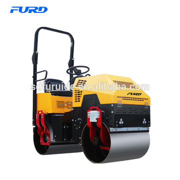 1 ton Baby Road Roller With Vibratory Double Drum Fyl-880